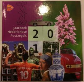 Jaarboek 2014 Inclusief alle postzegels & vellen Postfris