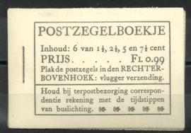 PZ 37 4 × 6 (Nvph 172/379/332/334) Roomkleurige Kaft