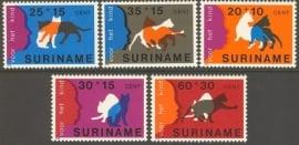 Suriname Republiek 146/150 Kinderzegels 1978 Postfris