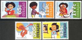 Curaçao Status Aparte 305/309 Kind en Gezondheid 2015 Postfris