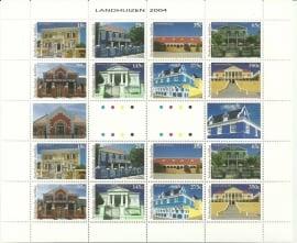 Nederlandse Antillen V1487/1494 Landhuizen Postfris