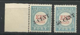 Port  27/28 1906/1910 Type III Postfris + Certificaat (1)