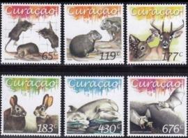 Curaçao Status Aparte 279/284 Zoogdieren 2015 Postfris