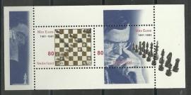 Nvph 1969 Blok Max Euwe Postfris