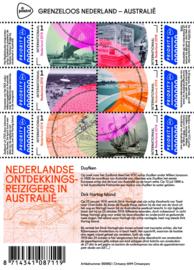 Nvph V3441/V3446 A Grenzeloos Nederland - Australië Postfris
