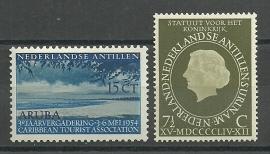 Nederlandse Antillen Jaargang 1954 Postfris