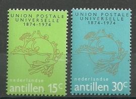 Nederlandse Antillen 495/496 Postfris