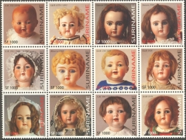 Suriname Republiek 1194/1205 Oude Poppen 2003 Postfris