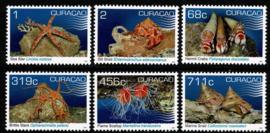 Curaçao Status Aparte 411/416 Schelpdieren 2019 Postfris