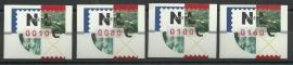 AU 32 Automaatzegels Nagler Strook Postfris