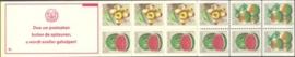SR Postzegelboekje 6cp Postfris