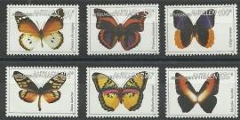 Nederlandse Antillen 1646/1651 Vlinders 2006 Postfris