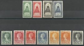 Nvph 121/131 Jubileum 1923 Ongebruikt ( 8)