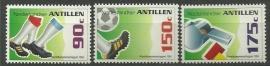 Nederlandse Antillen 1060/1062 WK Voetbal 1994 Postfris