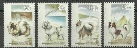 Nederlandse Antillen 1030/1033 Honden 1993 Postfris