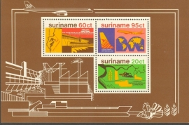 Suriname Republiek 139 Blok Economische Ontwikkeling 1978 Postfris