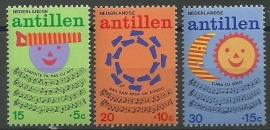 Nederlandse Antillen 497/499 Postfris