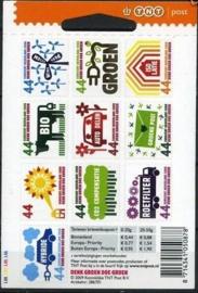 Nvph Vaa2550/2559  10 × 0,44ct TNT Logo Postfris (Nieuw Tarief + Kleerhanger)