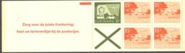 SR Postzegelboekje 1b Postfris