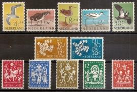 Complete Jaargang 1961 Postfris