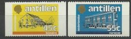 Nederlandse Antillen 762a/763a Postfris