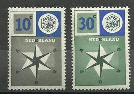 Nvph 700/701 Europazegels Postfris