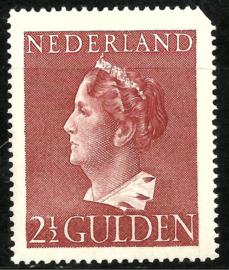 Nvph 347 2½ Gulden Konijnenburg Postfris (1) * Koopjeshoek *