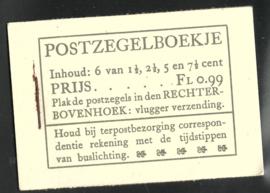 PZ 38-N 4 × 6 (Nvph 172/379/380/381) Roomkleurige Kaft (18)