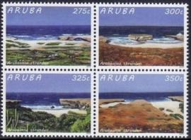 Aruba 836/839 Arubaanse Stranden 2015 Postfris