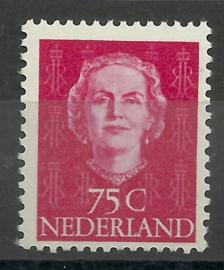 Nvph 533 75 cent Enface Lage waarde Postfris (1)