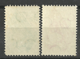 Nvph 238/239 Goudse Glazen Postfris (17)