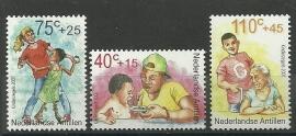 Nederlandse Antillen 1371/1373 Kinderzegels 2001 Postfris