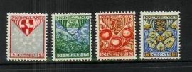Nvph 199/202 Kinderzegels 1926 Ongebruikt