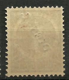 Nederlands Indië Dienst  8/D27 (1883 / 1902-1909) Postfris + Certificaat