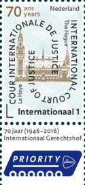Nvph D64 Cour de Justice Internationale Postfris