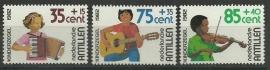 Nederlandse Antillen 727/729 Postfris