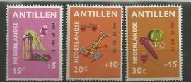 Nederlandse Antillen 442/444 Postfris