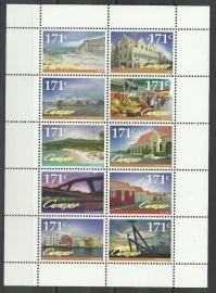 Curaçao Status Aparte  94/103 Blok Toerisme 2012 Postfris