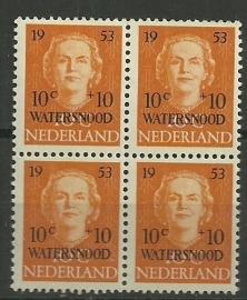 Nvph 601 Watersnood in Blok Postfris