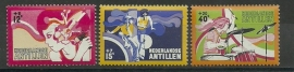 Nederlandse Antillen 489/491 Postfris