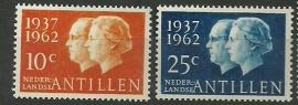 Nederlandse Antillen 323/324 Postfris