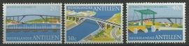 Nederlandse Antillen 500/502 Postfris