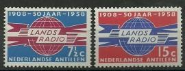 Nederlandse Antillen 291/292 Postfris