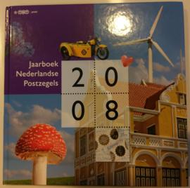 Jaarboek 2008 Inclusief alle postzegels & vellen Postfris