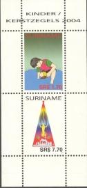 Suriname Republiek 1295 Blok Kinderzegels 2004 Postfris