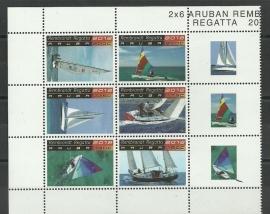 Aruba 617/622 Rembrandt Regetta 2012 Postfris
