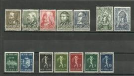 Complete Jaargang 1939 Postfris
