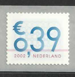 Kleurstreep op Nvph 2101A (13½×13¼) € 0,39 ct Zakenpost Postfris