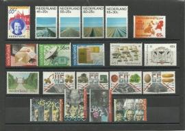 Complete Jaargang 1981 Postfris (Met blokken)