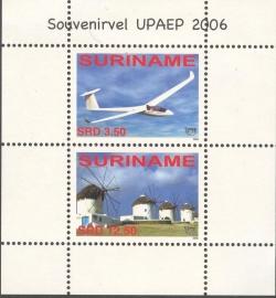 Suriname Republiek 1394 Blok UPAEP 2006 Postfris